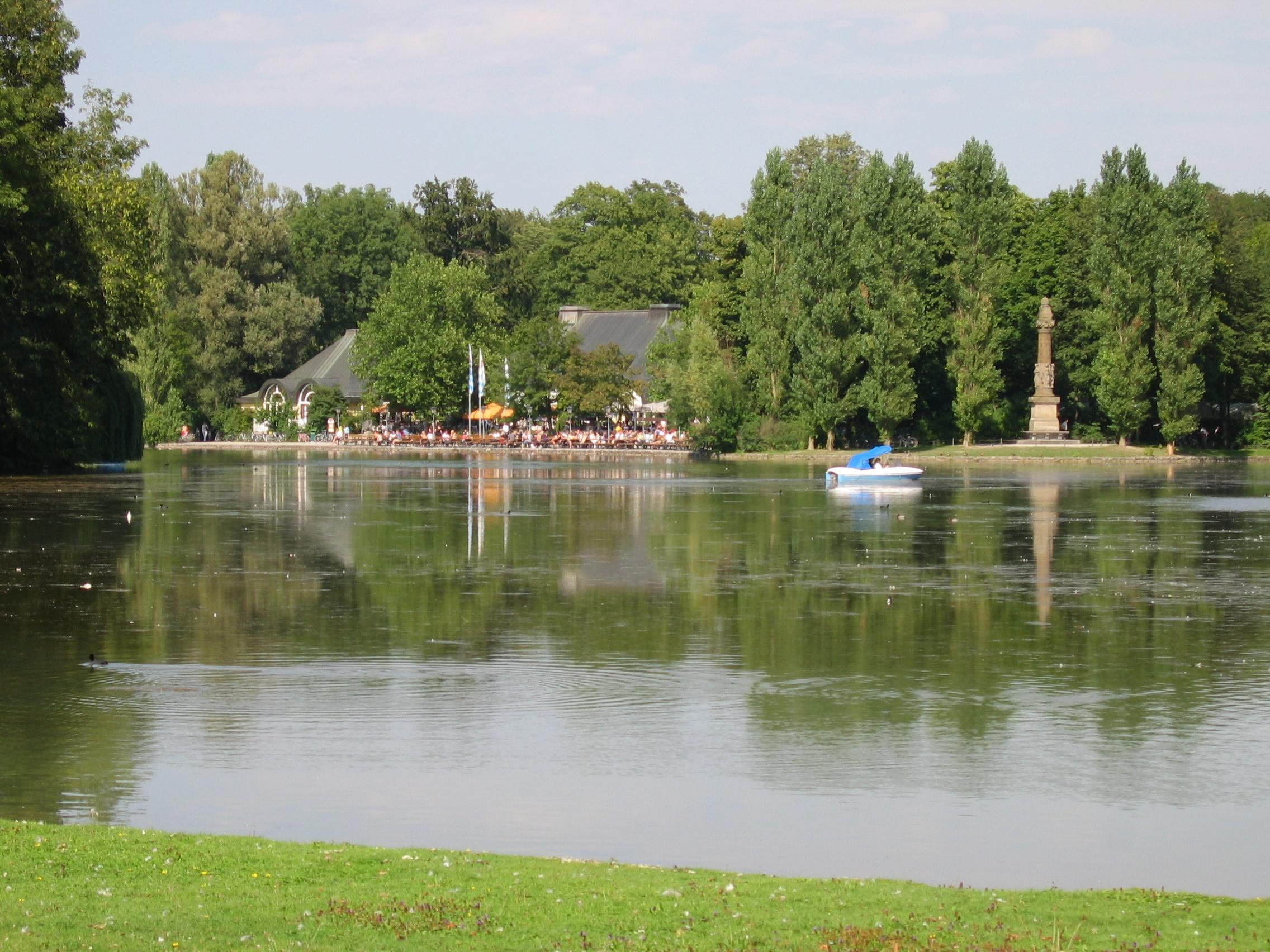 Seehaus Im Englischen Garten Luxus File Kleinhesseloher See Mit Denkmal Und Biergarten