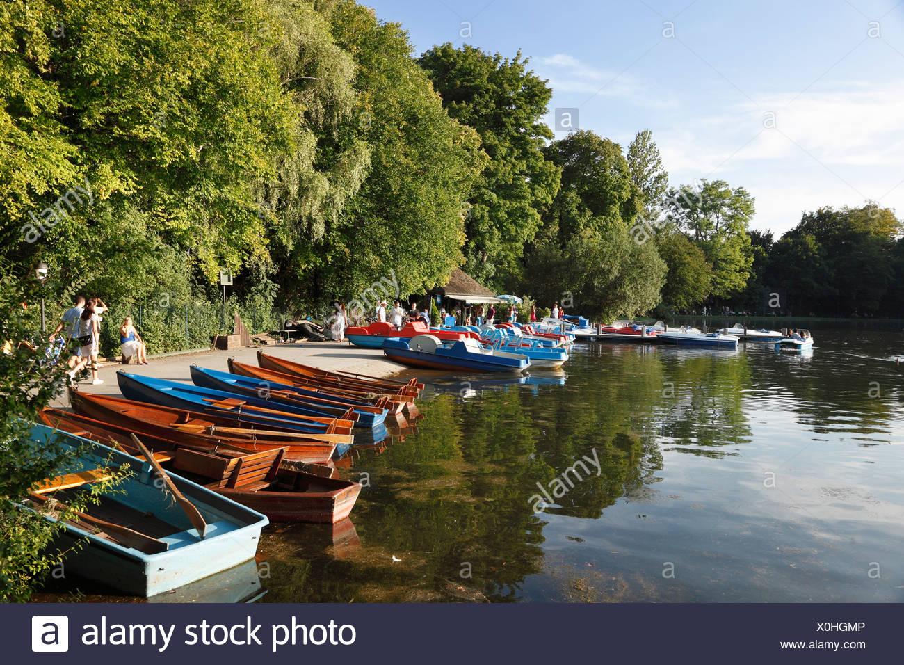 Seehaus Im Englischen Garten Schön Boat Rental Kleinhesseloher See Lake Englischer Garten