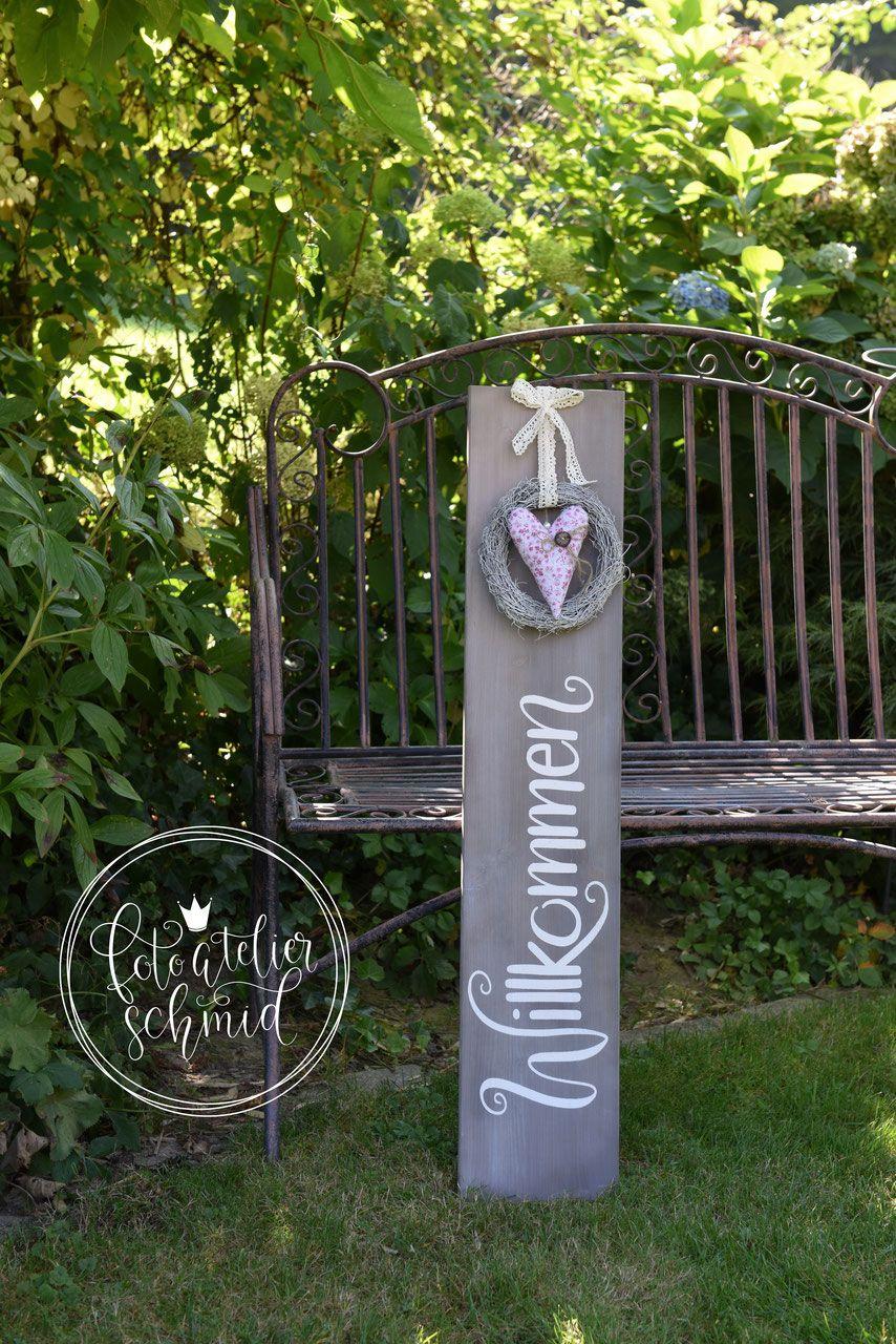 Selber Machen Gartendeko Holz Luxus Schilder Aus Holz Metall Foto atelier Schmid