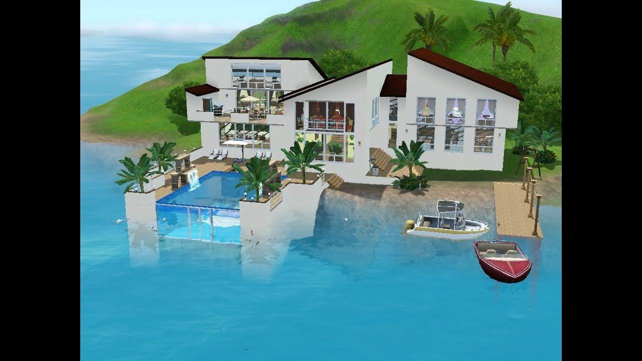 Sims 3 Design Garten Accessoires Einzigartig Sims 3 Haus Bauen Lets Build Familienidylle Am Meer