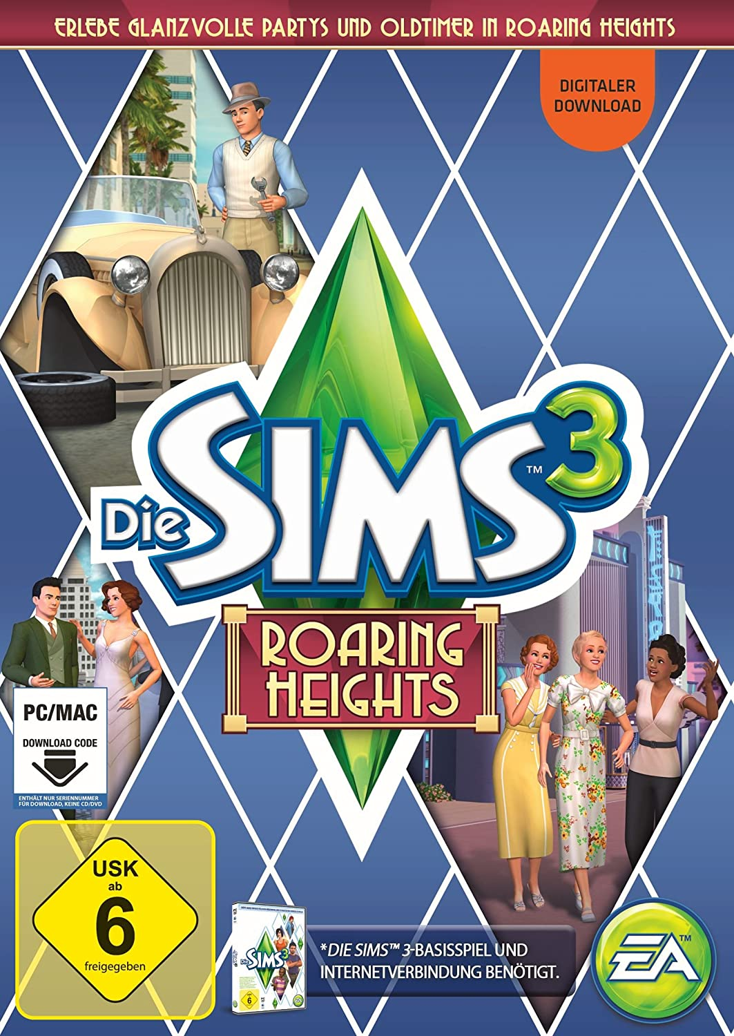 Sims 3 Design Garten Accessoires Genial Die Sims 3 Roaring Heights Add Amazon Games