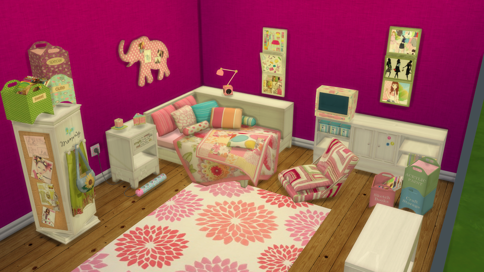 Sims 3 Design Garten Accessoires Inspirierend Anna Tropical Twist Room Ts2 to Ts4 Conversation