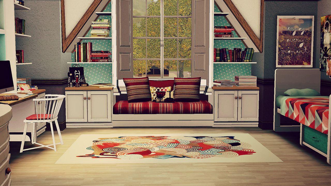 Sims 3 Design Garten Accessoires Inspirierend attic Room