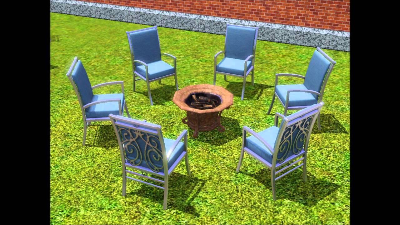 Sims 3 Design Garten Accessoires Schön Sims 3 Outdoor Living Stuff