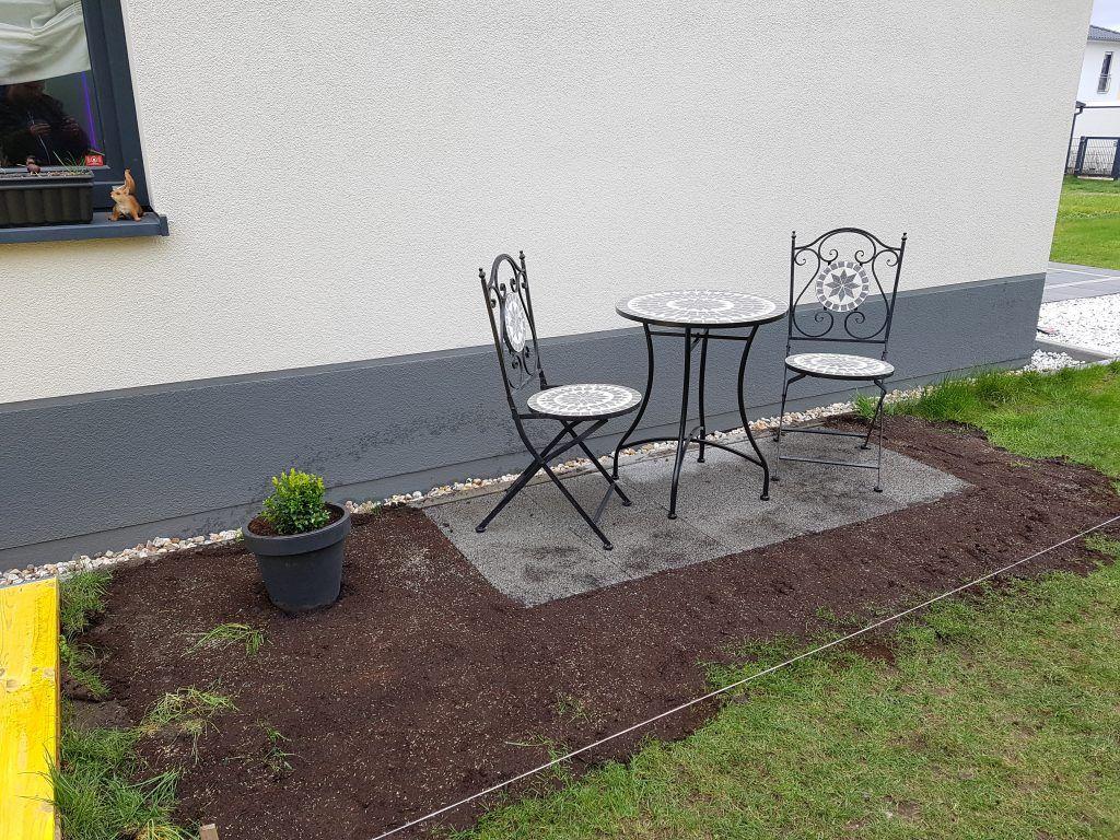 Sitzecke Garten Selber Bauen Genial Diy Kleine Gartenterrasse