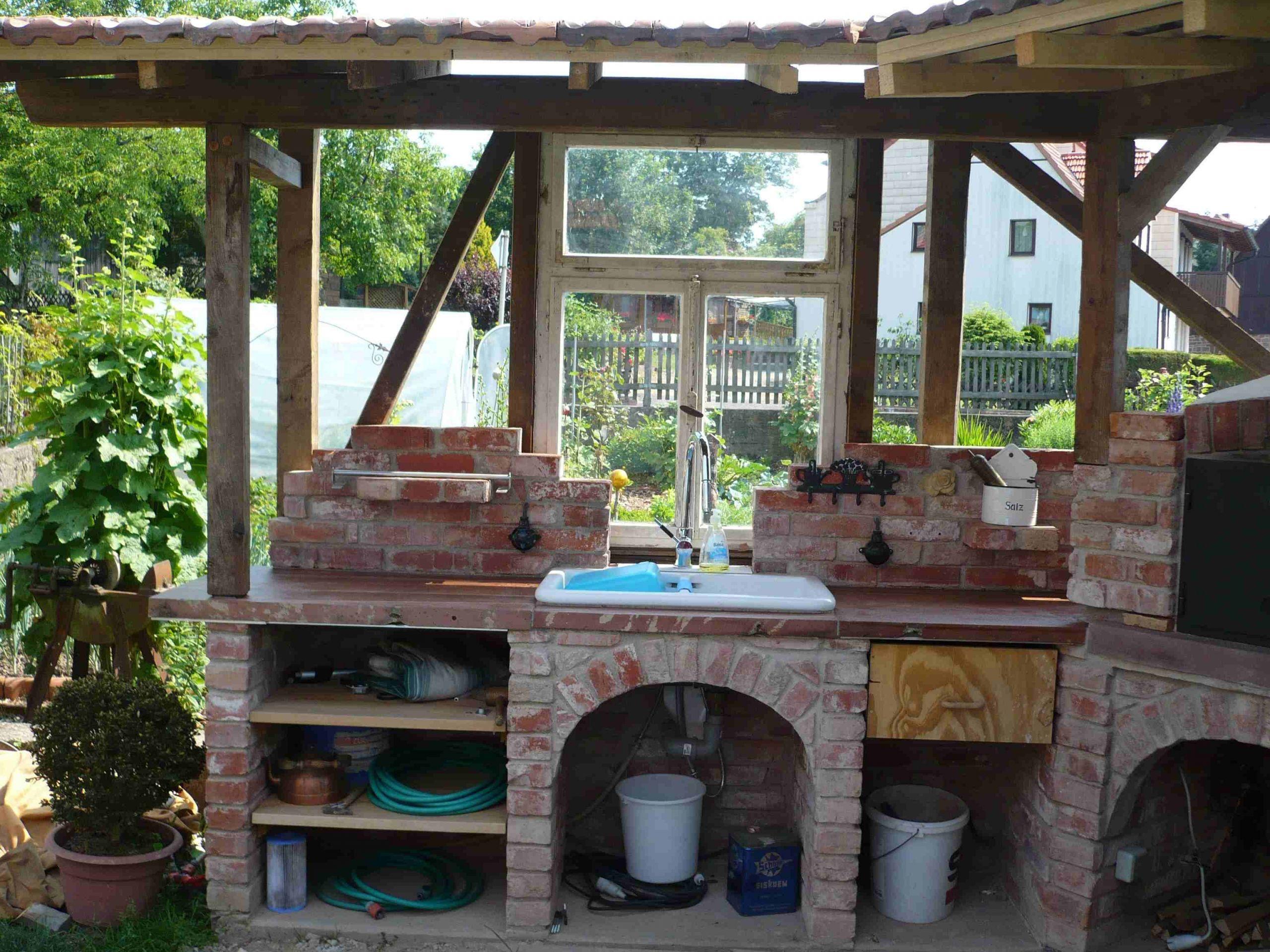 Sitzecke Garten Selber Bauen Neu Eine Gemauerte Gartenküche – Mehr Als Nur Ein Grill