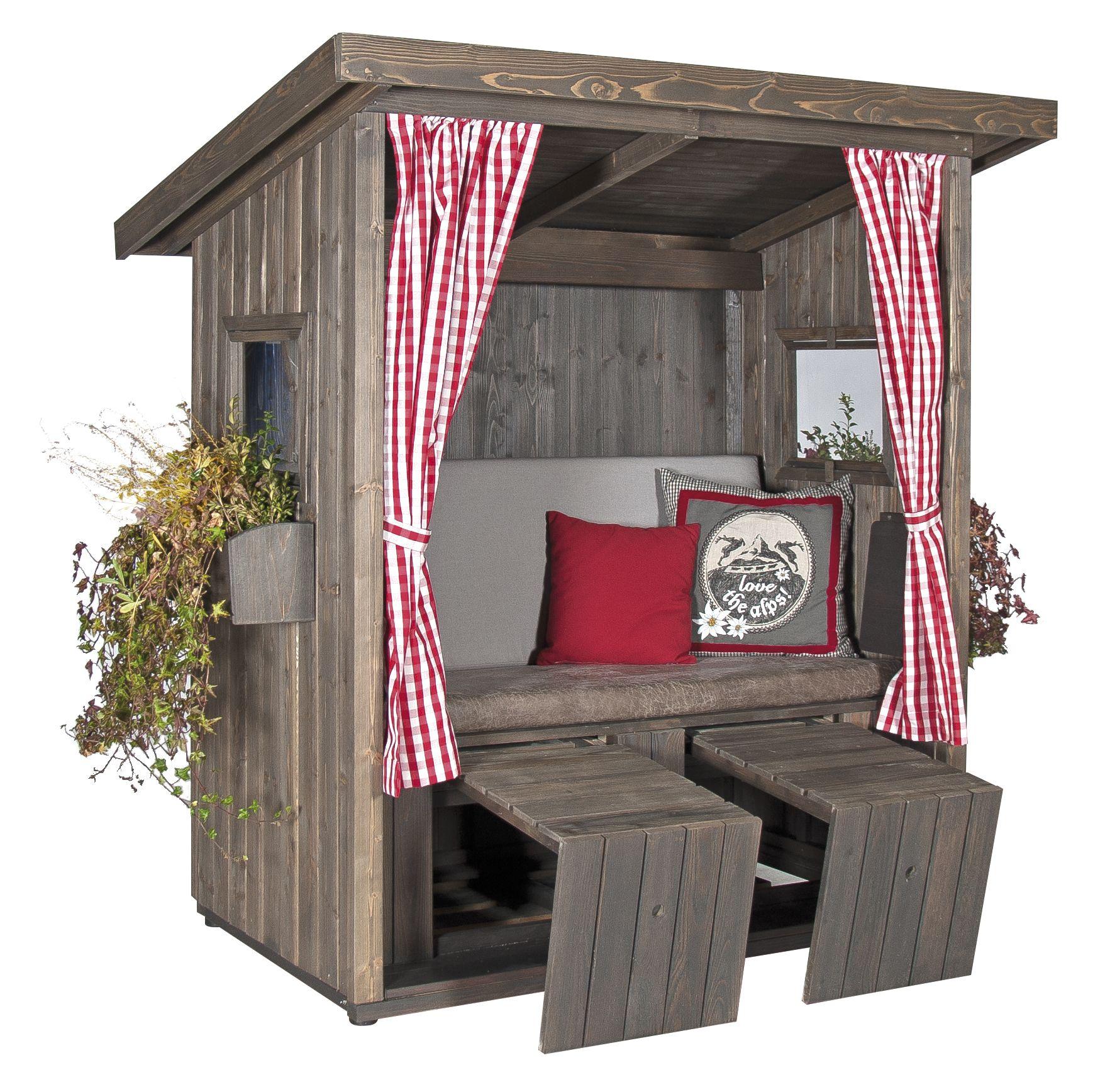 Sitzecke Garten Selber Bauen Neu Garten Loungehütte Zweisitzer Holzhütte Als überdachte
