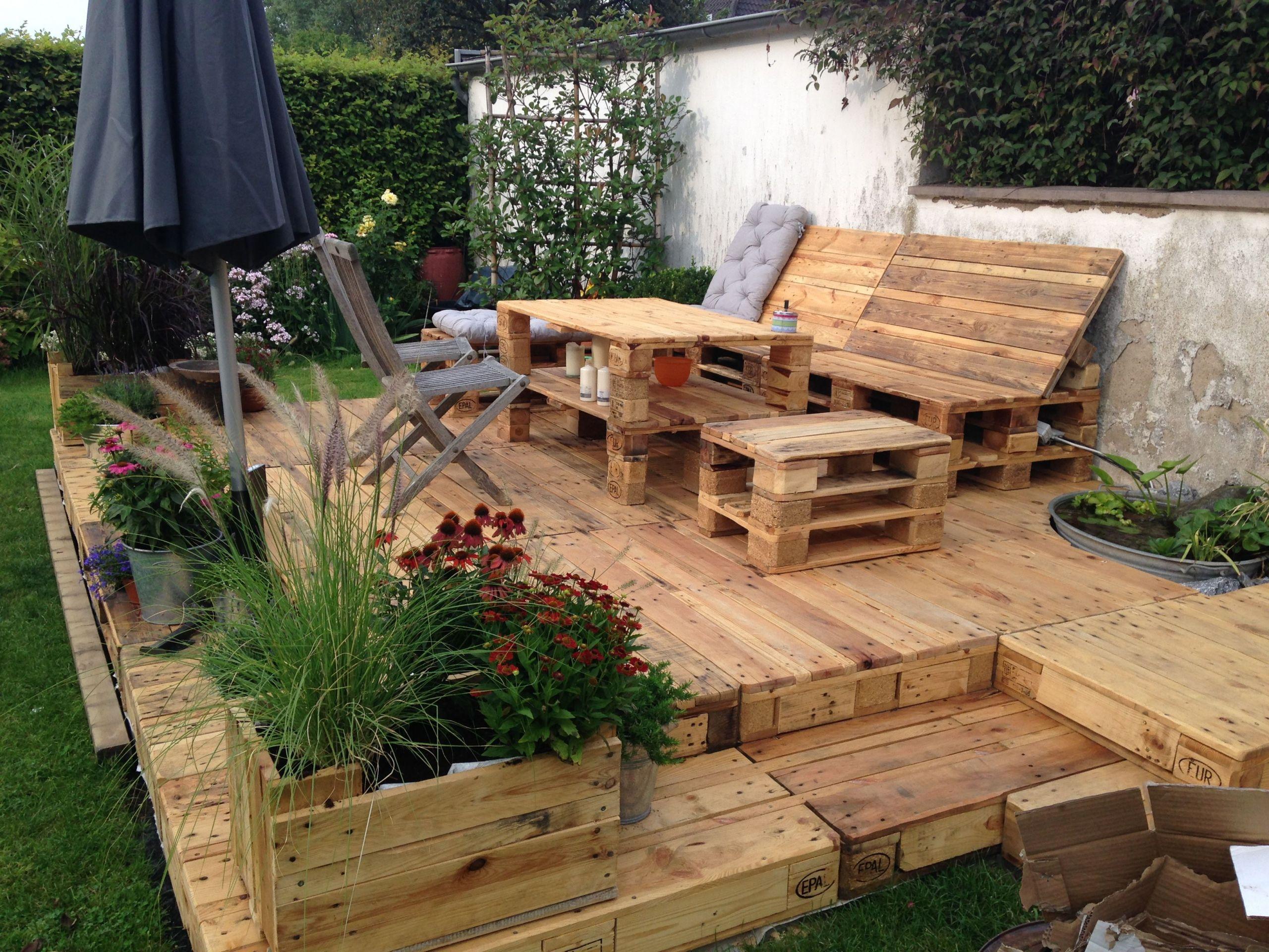 46 Genial Sitzecke Garten Selber Bauen Garten Deko