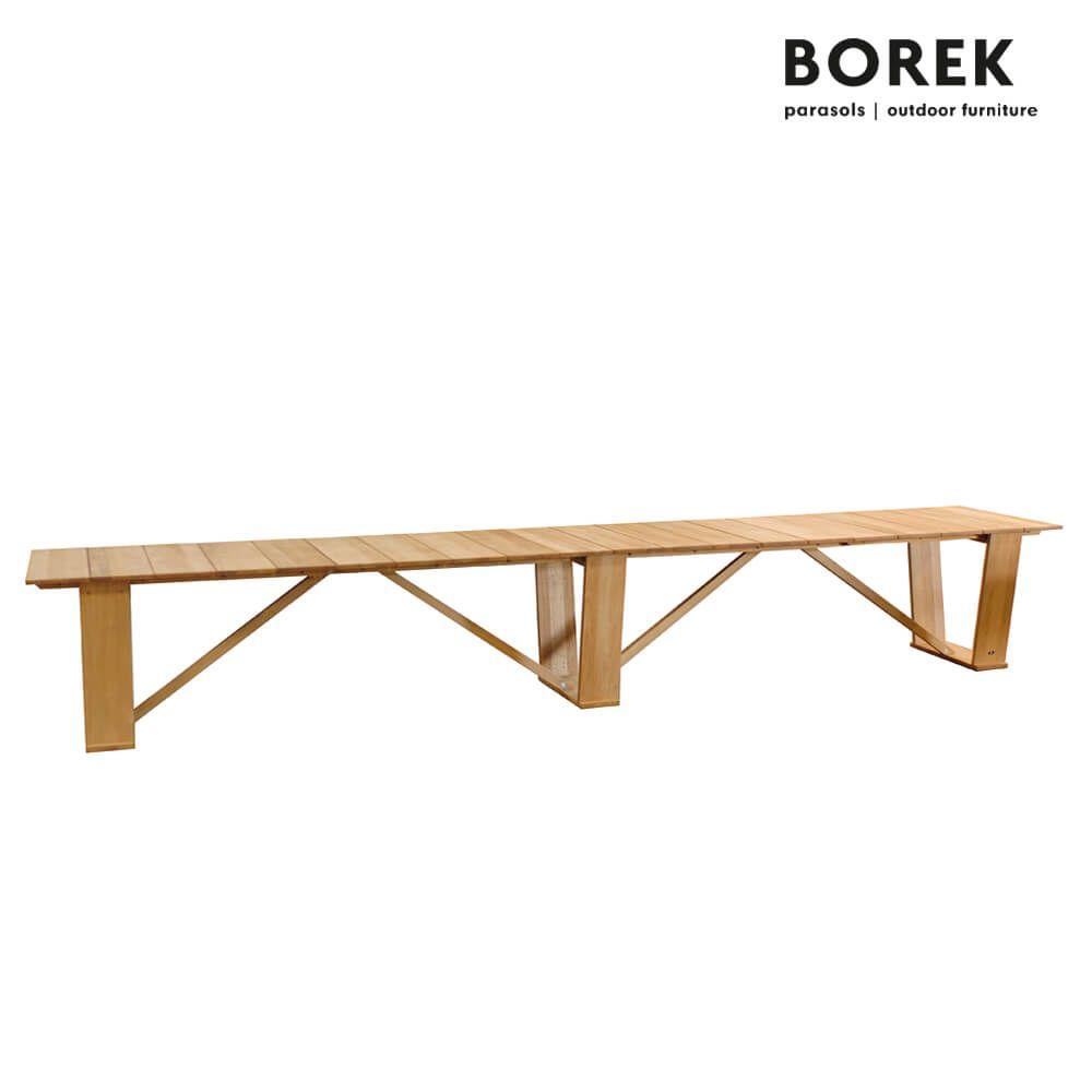 xxl gartentisch von borek teak holz 75x500x90cm extra gross roma esstisch