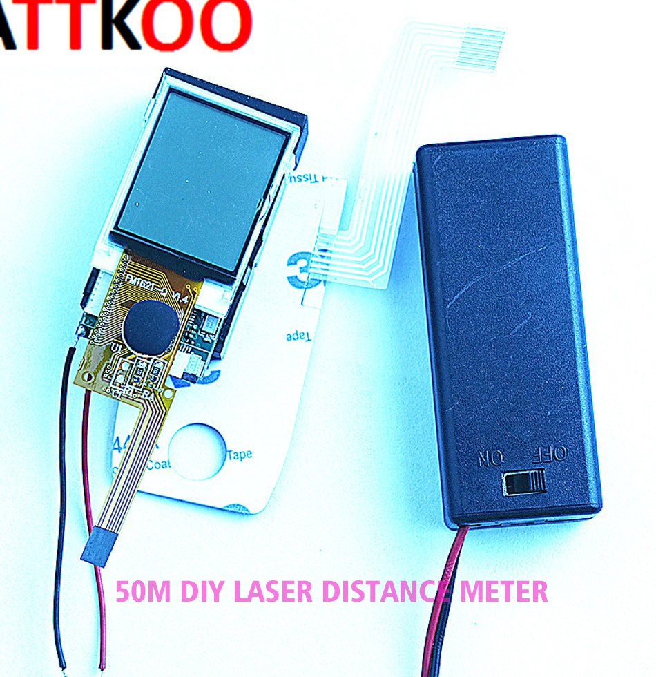 50M font b DIY b font Rangefinder Laser Distance font b Meter b font font b