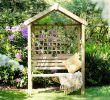 Teakholzmöbel Garten Einzigartig Holzbank Mit Dach