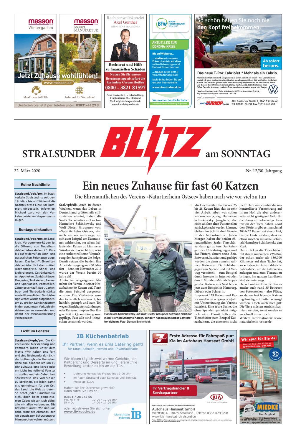 Thomas Philipps Onlineshop De Haus Und Garten Elegant Stralsunder Blitz Vom 22 03 2020 by Blitzverlag issuu