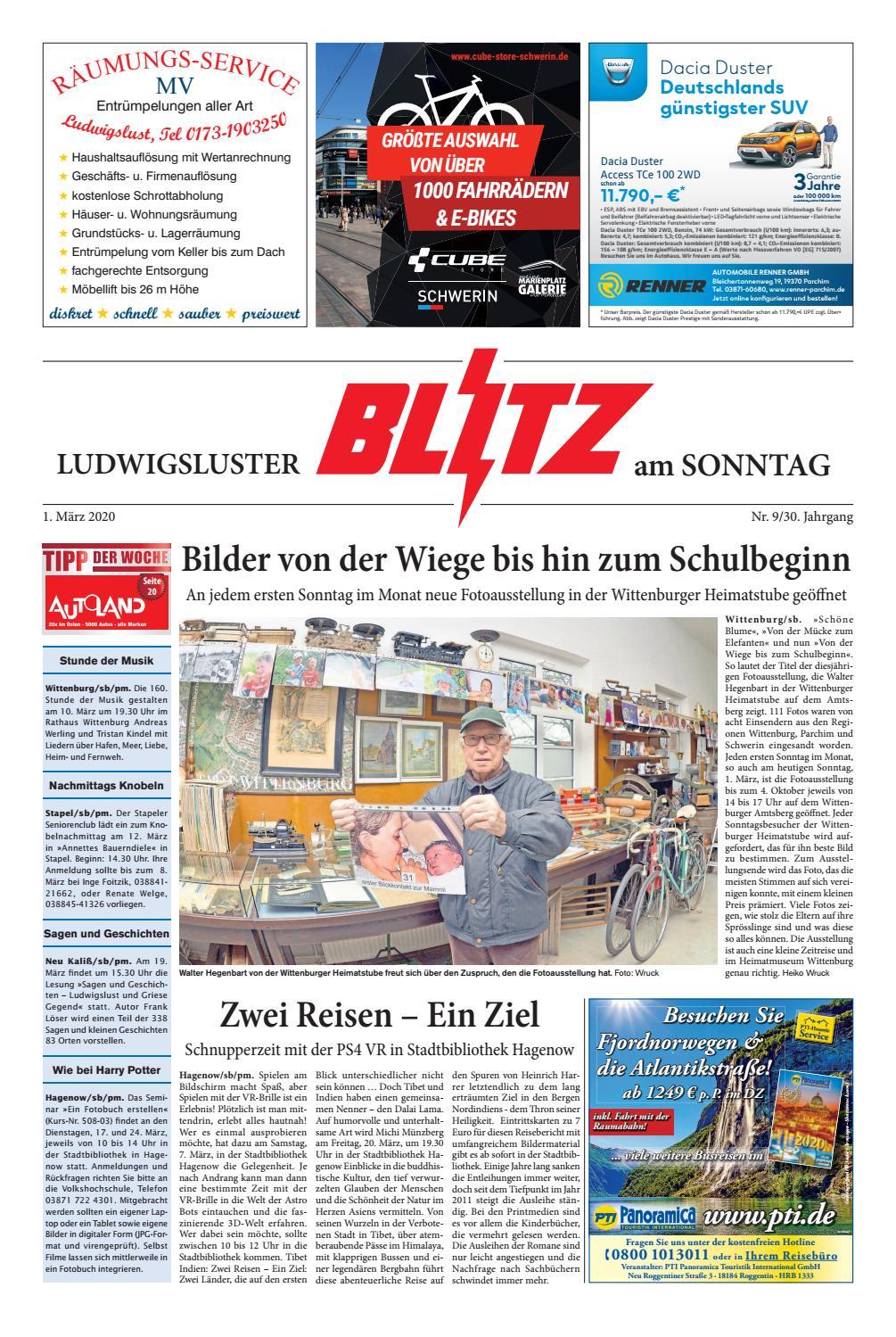 Thomas Philipps Onlineshop De Haus Und Garten Genial Ludwigsluster Blitz Vom 01 03 2020 by Blitzverlag issuu