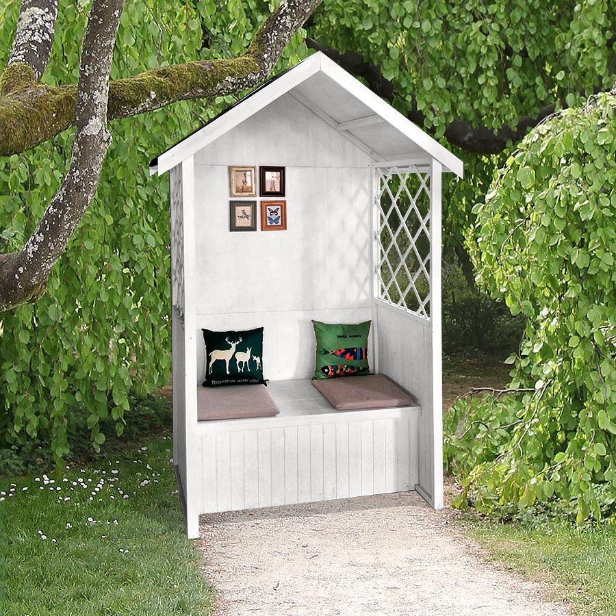 Thomas Philipps Onlineshop De Haus Und Garten Luxus Philosophenhäuschen Weiß