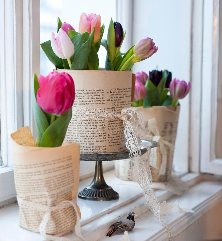 deko tulpen buchseiten katharina gossow SA