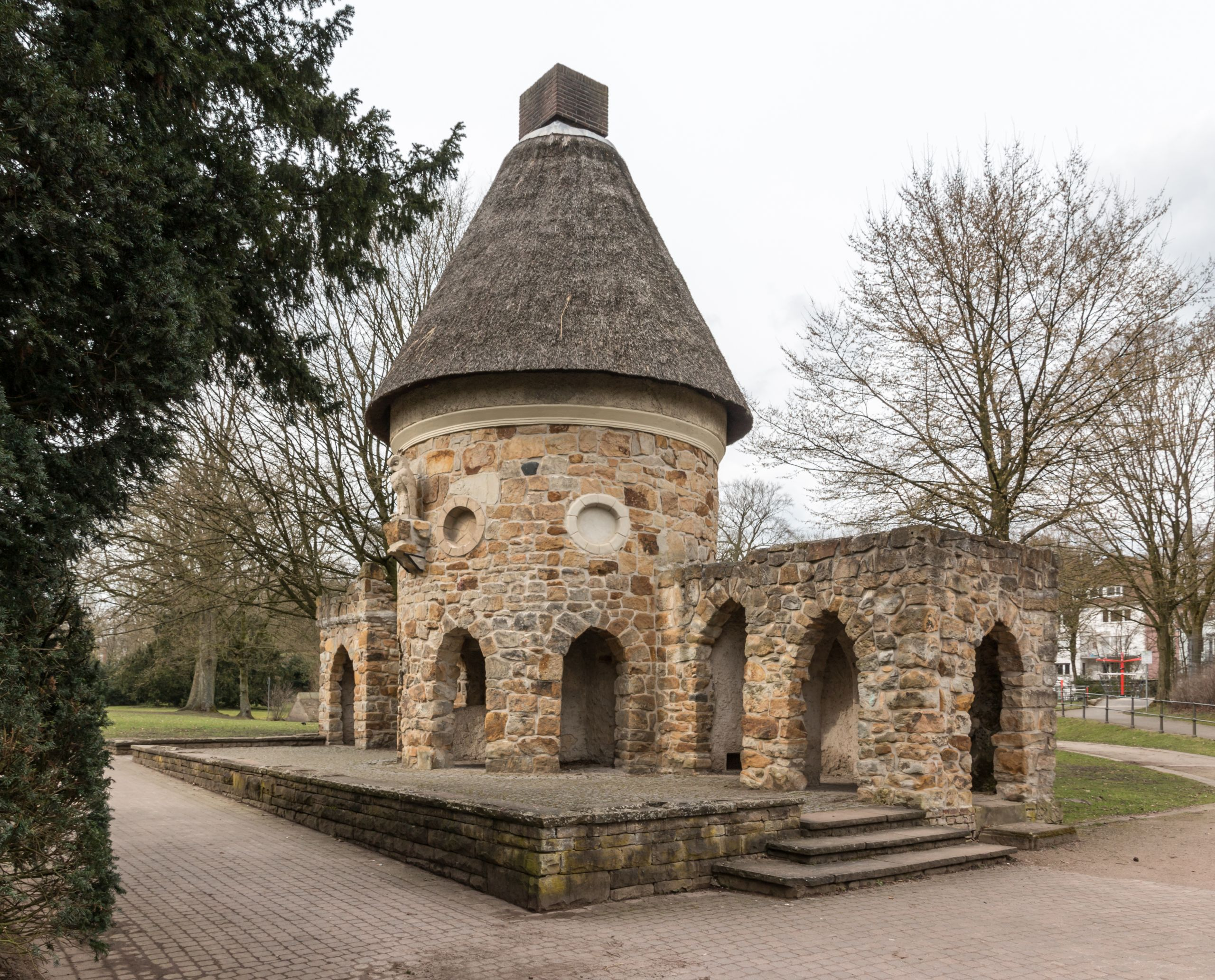 Münster Alter Zoo Eulenhaus 2016 1541
