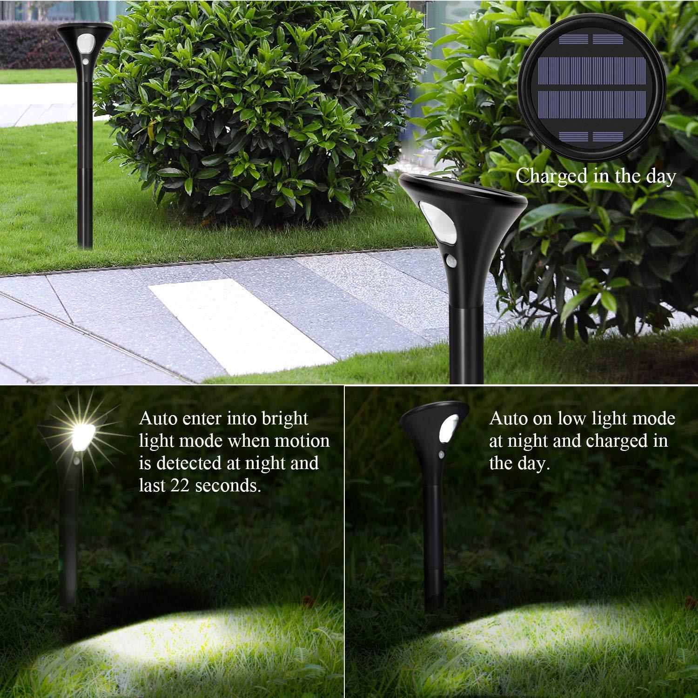 Wegeleuchten Garten Best Of Einfahrt Fahrbahn solarleuchten 2 Stück Wegeleuchten Außen