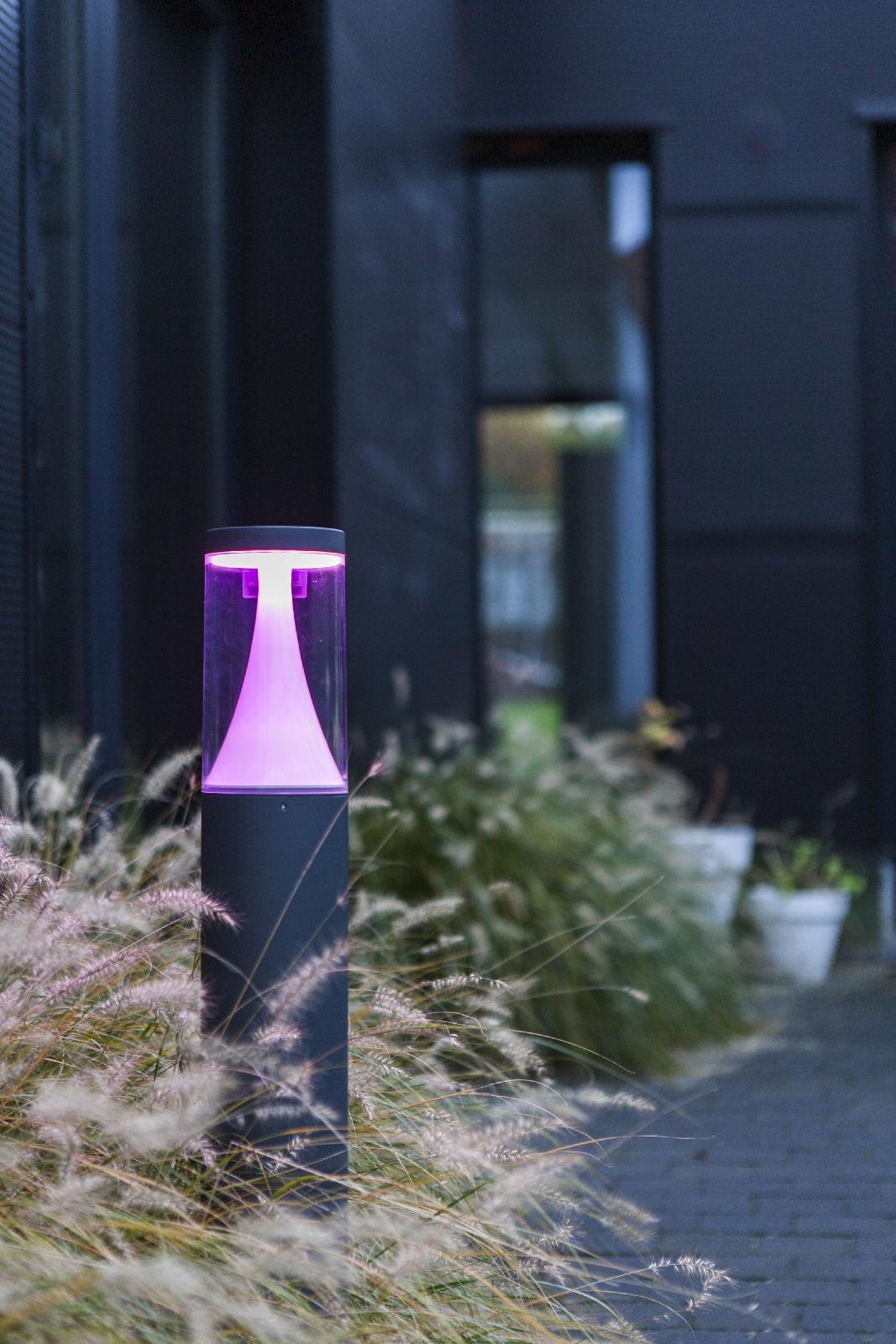 Wegeleuchten Garten Frisch Rgb Led Außenleuchte Wegeleuchte Eco Light Lutec Spica App