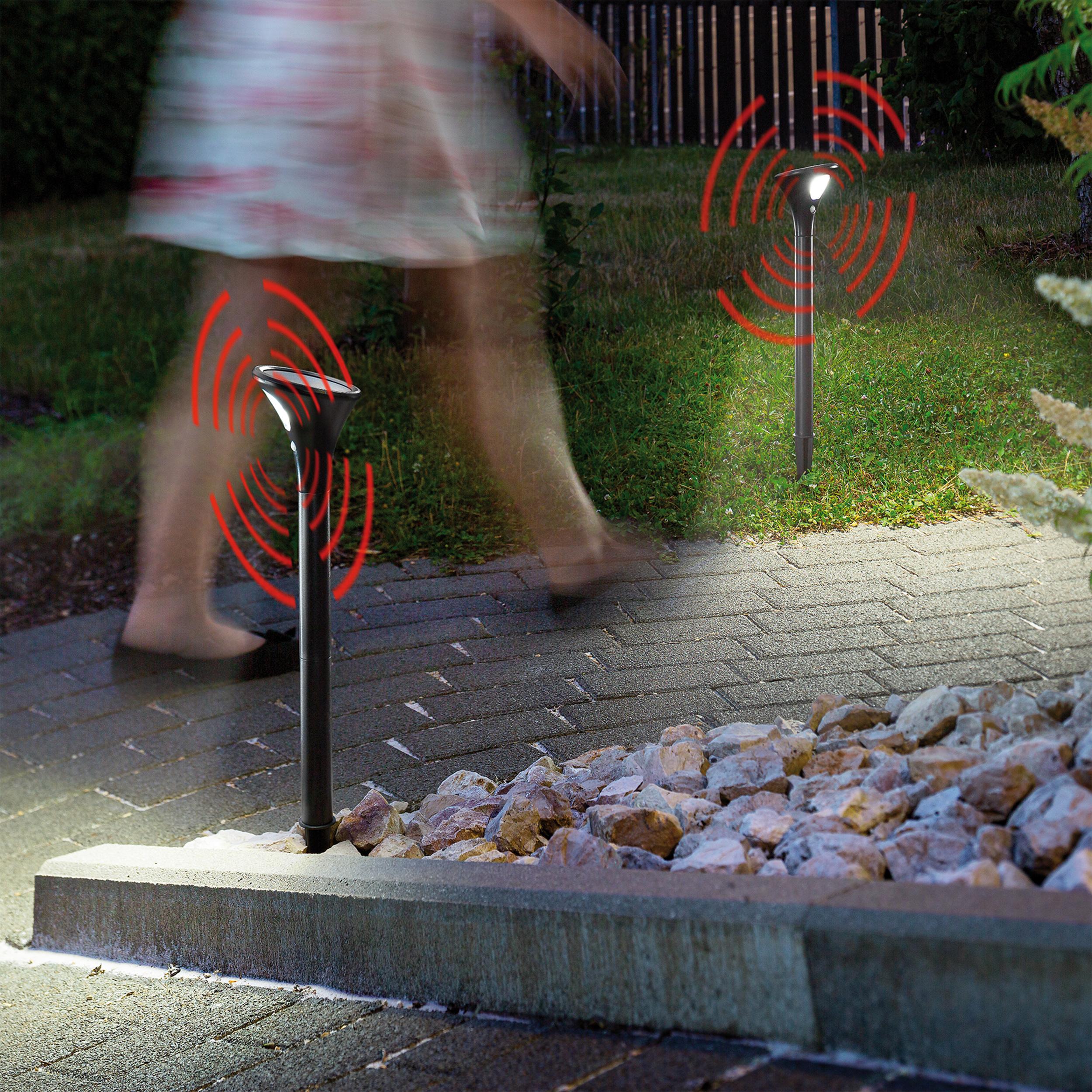 Wegeleuchten Garten Luxus solar Sensor Wegeleuchten topspot Im 2er Set