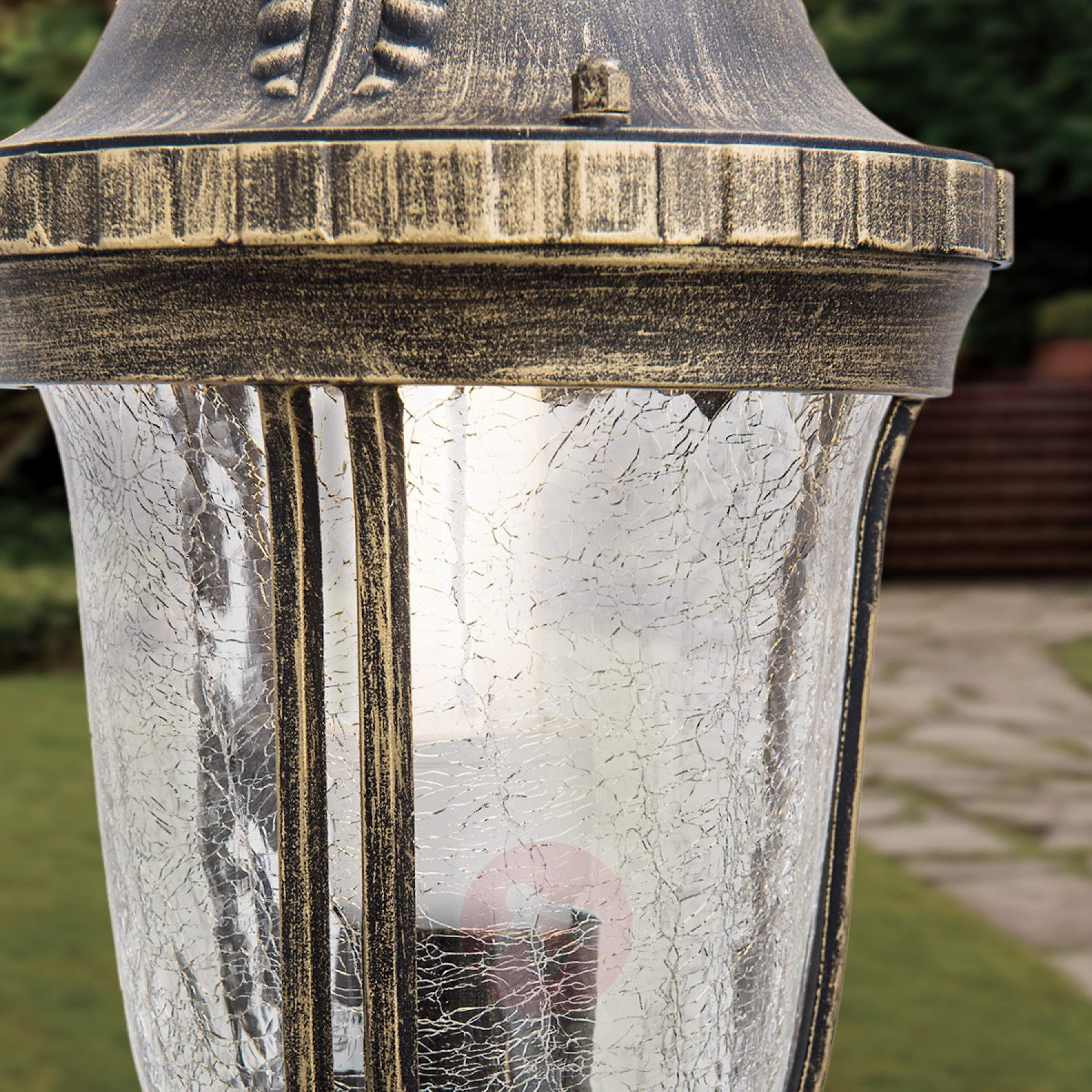 Wegeleuchten Garten Luxus Traditionelle Wegeleuchte Paula Mit Strukturglas