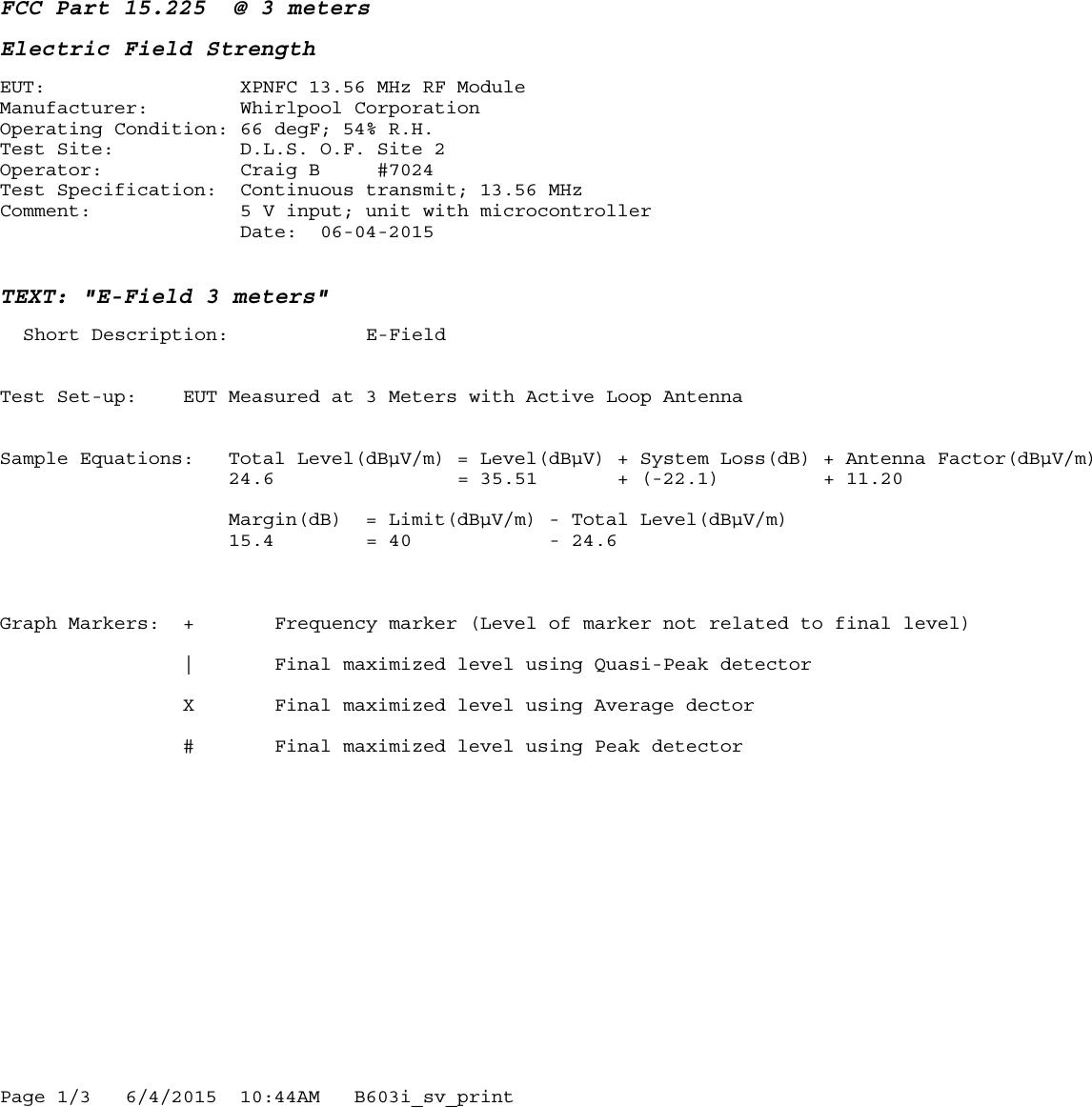 Whirlpool Garten Test Frisch Xpnfc Nfc Module Test Report Whirlpool