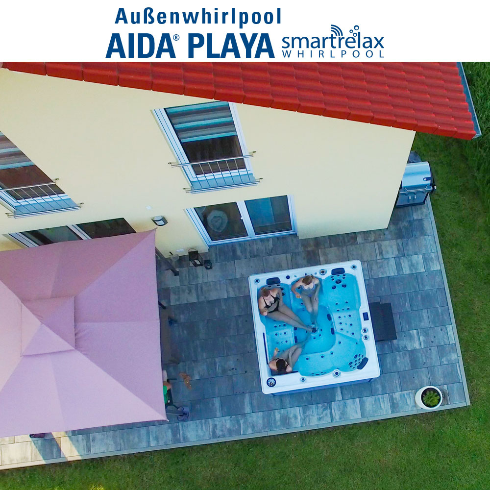 Whirlpool Garten Test Luxus Aktionsmodell Aida Playa Smartrelax Whirlpool 5 6 Pers