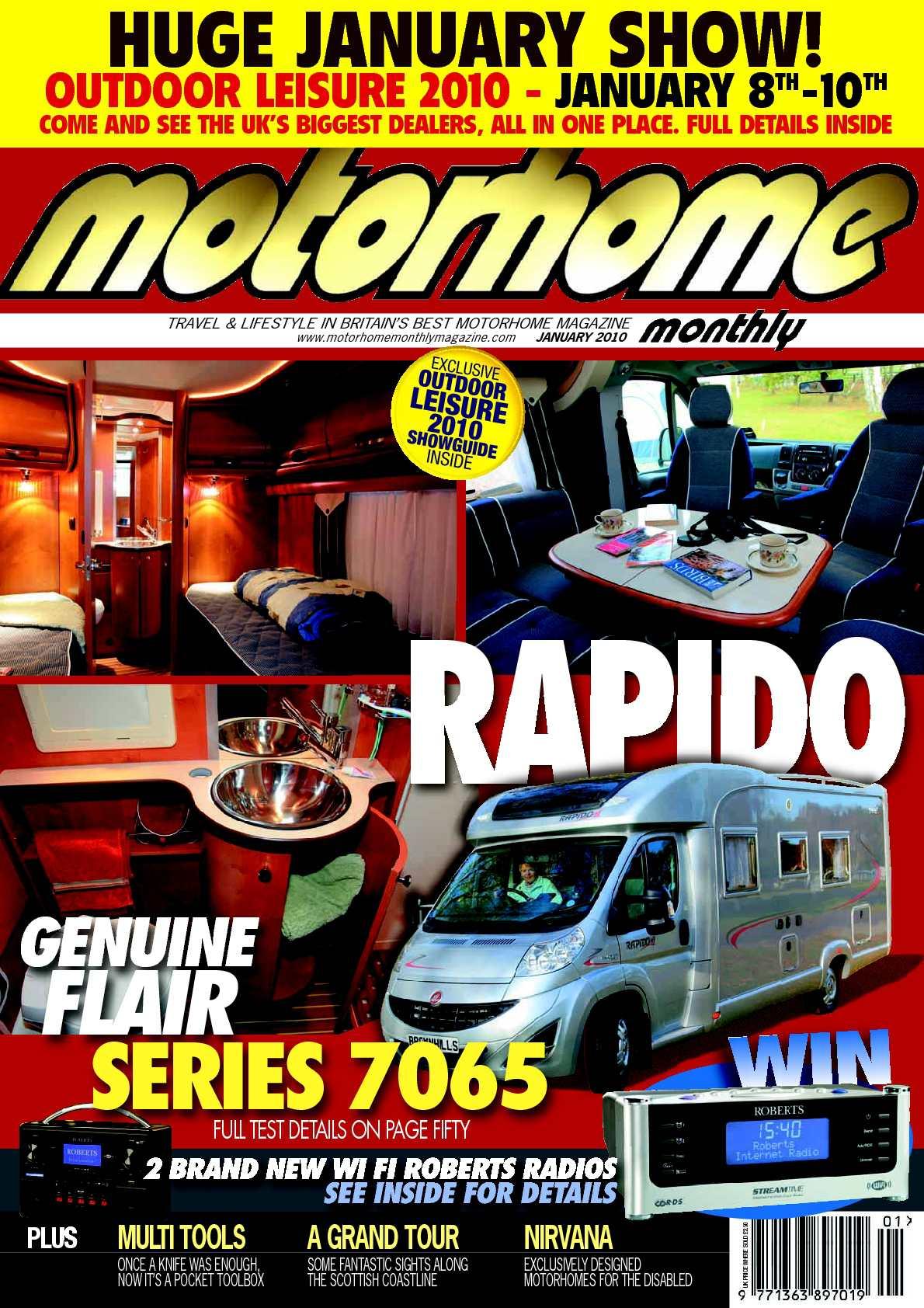 Whirlpool Garten Test Luxus Calaméo January 2010 Motorhome Monthly Magazine