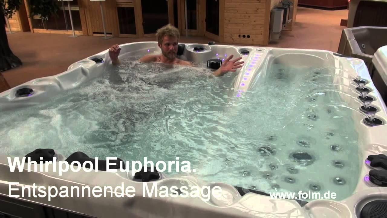 Whirlpool Garten Test Schön Whirlpool Euphoria Entspannende Massage