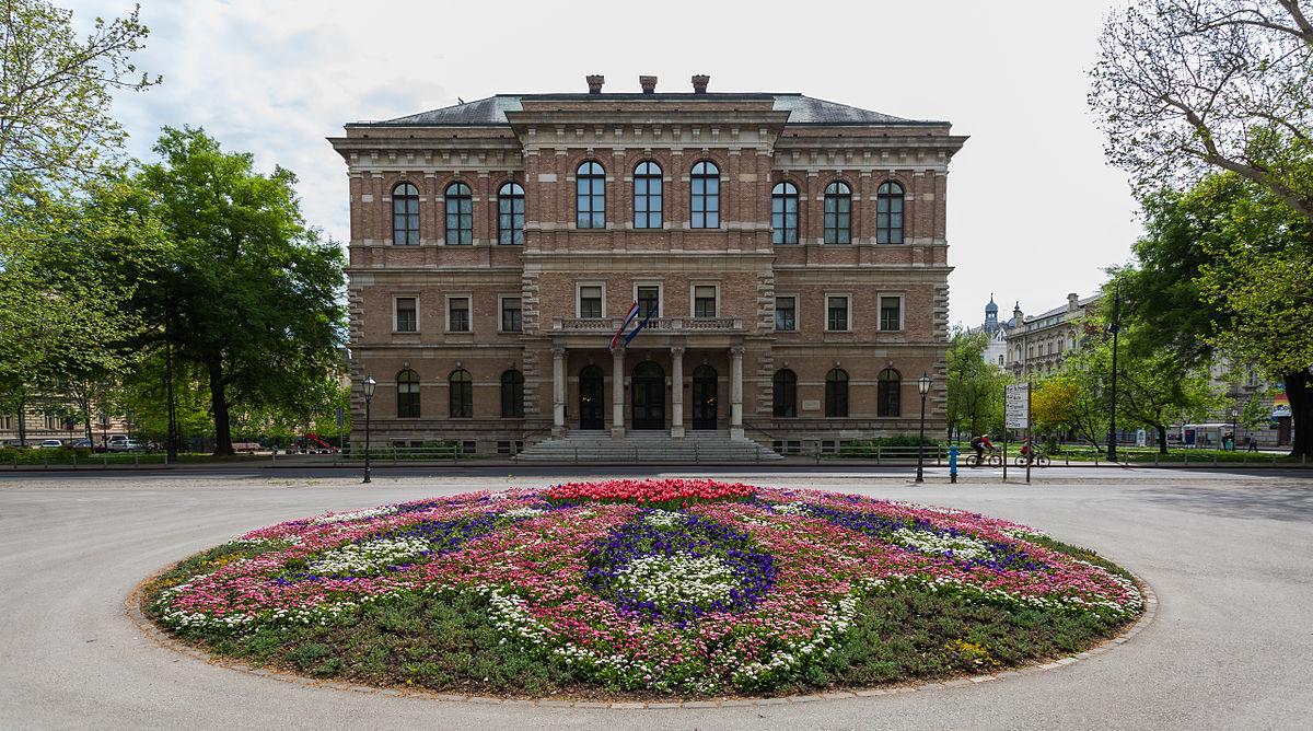 1200px Academia Croata de Ciencias y Artes Zagreb Croacia 2014 04 20 DD 01 JPG